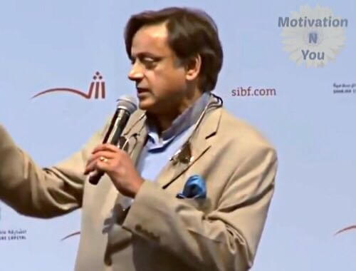Motivational Speech of Shashi Tharoor | Importance of Reading - Motivational Speech - Motivation N You
